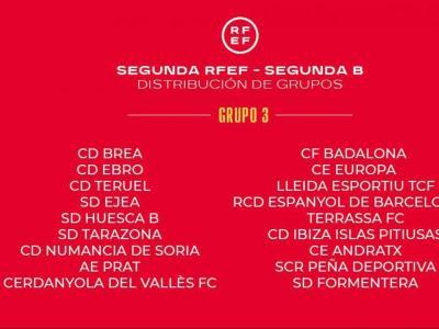 La totalitat dels 19 equips que formaran el curs vinent el grup tercer de la segona divisió FEF.