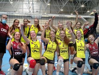 L'equip cadet del DSV Sant Cugat en el campionat d'Espanya