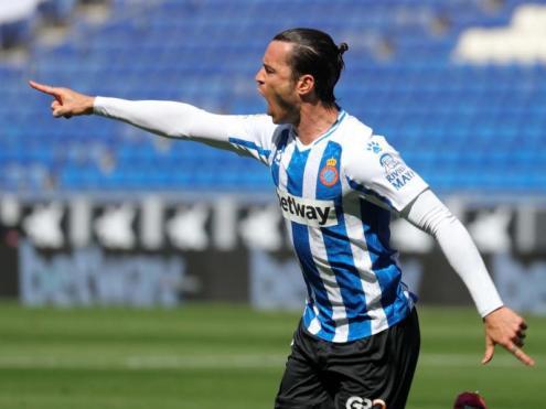 LaLiga ha escollit a Raúl De Tomás com el millor jugador del campionat de segona divisió.