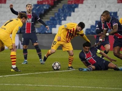 Messi, contra el PSG