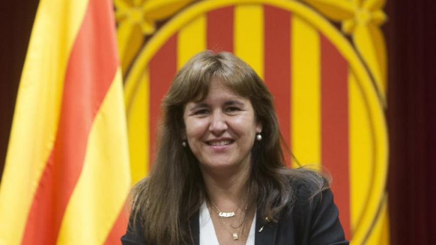<b>Laura Borràs, </b>fotografiada la setmana passada