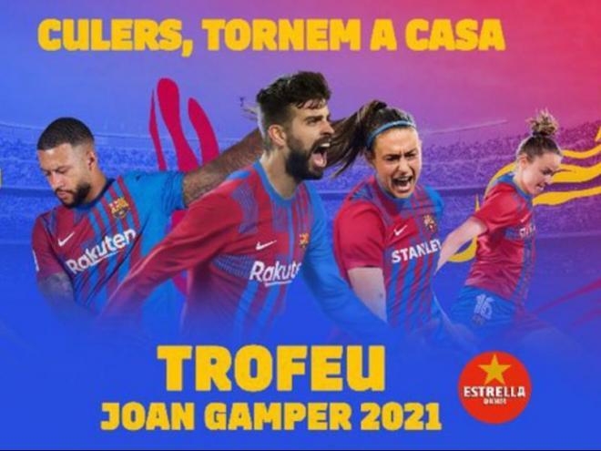 La imatge promocional del Gamper