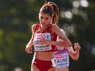 Carla Domínguez , campiona europea en els 5.000 m