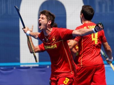 Josep Romeu celebra el gol de l'empat