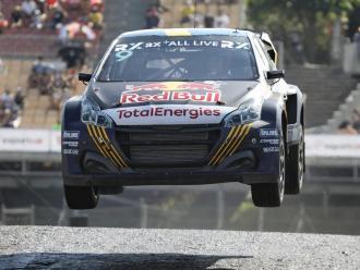 Kevin Hansen (Peugeot) vola cap a la victòria