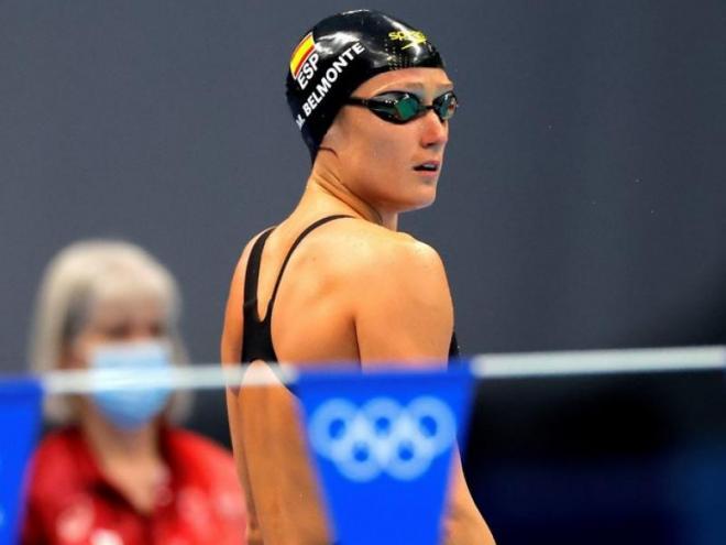 Mireia Belmonte s'ha quedat a tocar del seu cinquè podi olímpic