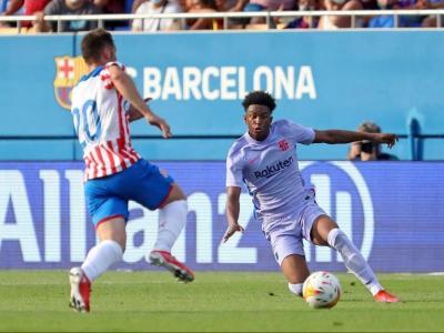 Balde, en el partit contra el Girona