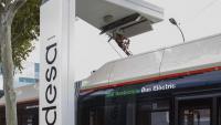 Punt de càrrega per catenària per a autobusos de TMB