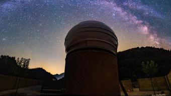 L'observatori, en una imatge d'arxiu
