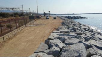 Els treballs de protecció de la via inclouen la creació d'una franja protectora d'entre 8 i 16 metres d'amplada
