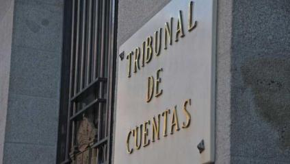 L'entrada del Tribunal de Comptes