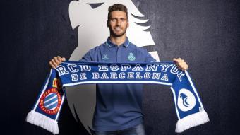 Sergi Gómez s'ha convertit en la primera cara nova de l'Espanyol per al curs 2021/22