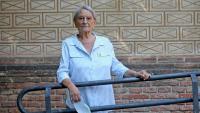 Carme-Laura Gil, fotografiada al recinte de l'Escola Industrial de Barcelona
