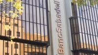La seu central de Banc Sabadell, a Sabadell