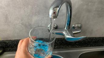 Aigua de l'aixeta de Barcelona