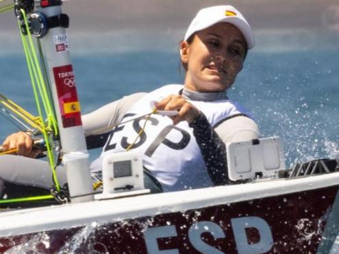Cristina Pujol en el seu debut en uns Jocs
