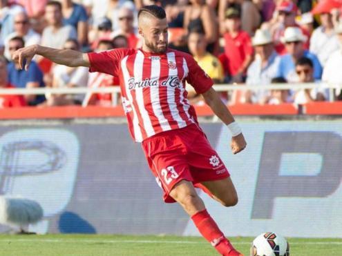 David Juncà va jugar 66 partits amb el Girona entre el 2011 i el 2015