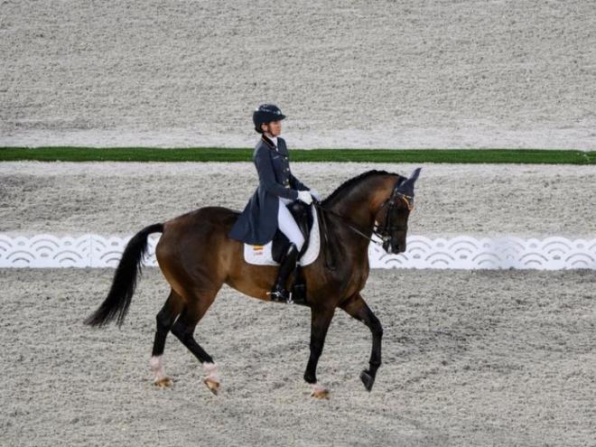 Beatriz Ferrer-Salat en competició