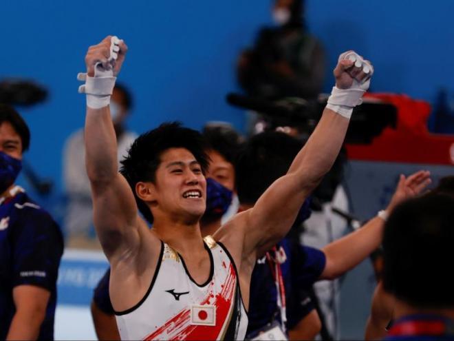 Hashimoto , campió olímpic als 19 anys