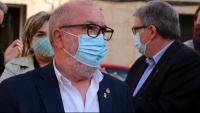 Primer pla de l'alcalde de Roquetes, Paco Gas