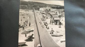 Les casetes de bany, en els anys de l'esclat turístic durant la segona meitat del segle XX