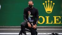 El gest antiracista de Hamilton a Hongria