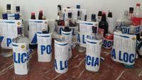 Ampolles requisades per la Guàrdia Municipal del Morell (Tarragonès)