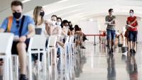 Joves acabats de vacunar, aquesta setmana a la Ciutat de les Arts de València