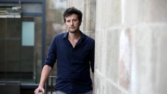Enric Puig, a Santa Mònica, actualment en obres per adaptar-se al nou centre d'art orgànic