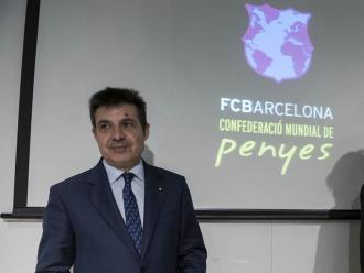 Antoni Guil, president de la Confederació Mundial de Penyes del Barça