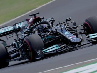 Lewis Hamilton en la qualificació
