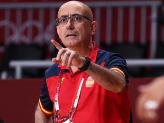 Jordi Ribera, donant instruccions