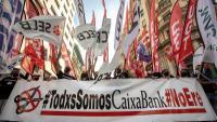 Manifestació de treballadors al juny a València contra l'ERO