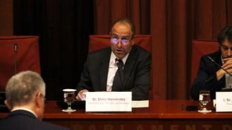 L'exdirector d''El Periódico de Catalunya' Enric Hernández a la comissió del Parlament que investiga els atemptats de Barcelona i Cambrils