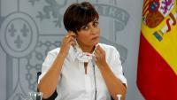 La ministra portaveu, Isabel Rodríguez, dimarts després del Consell de Ministres