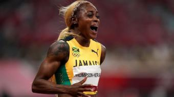 Elaine Thompson-Herah ja té un altre doblet olímpic