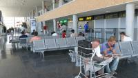 Terminal de l'aeroport de Reus, que quedarà connectat per l'alta velocitat