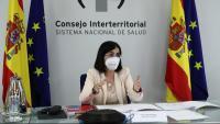 La ministra de Sanitat, Carolina Darias