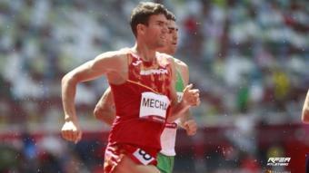 Adel Mechaal competirà dissabte en la seva primera final olímpica