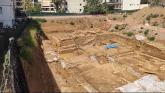 Pla general del jaciment El Roser-Mujal de Calella
