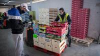 El Banc dels Aliments de Barcelona ha repartit 14 tones d'aliments en set mesos