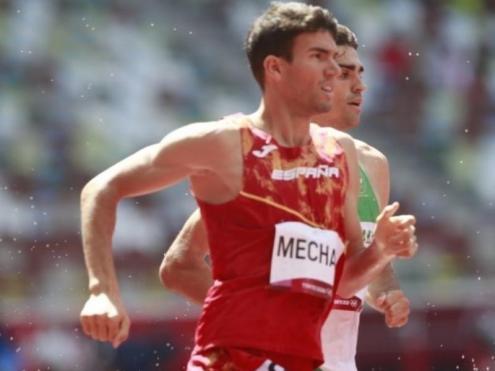 Mechaal , durant la cursa