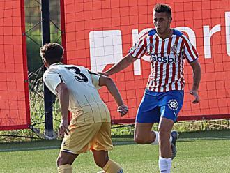 Dubasin , durant el Girona-Espanyol B