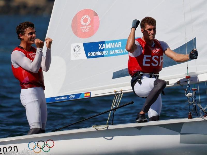 Jordi Xammar i Nocolás Rodríguez contents per la medalla de bronze