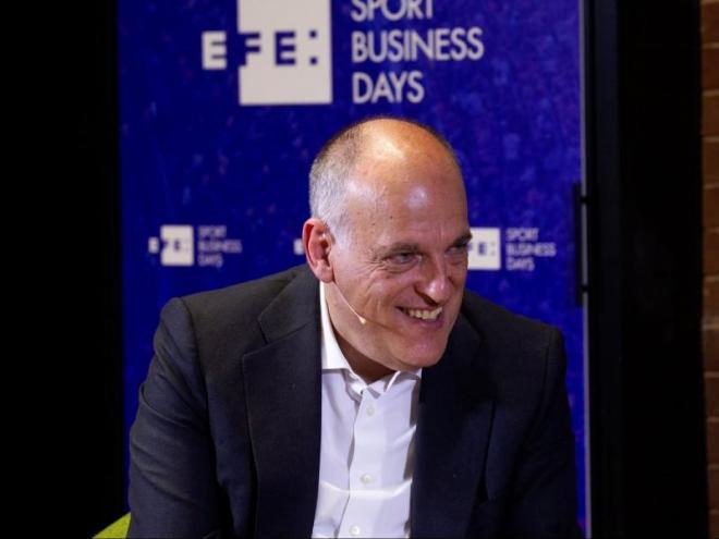 Javier Tebas, president de la lliga