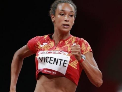 Maria Vicente , la més ràpida en 200 m amb 23.50