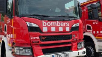 Imatge d'arxiu d'un camió de Bombers