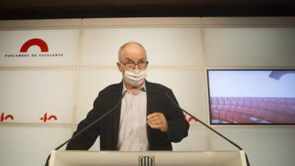 El síndic de greuges, Rafael Ribó, en una imatge d'arxiu al Parlament