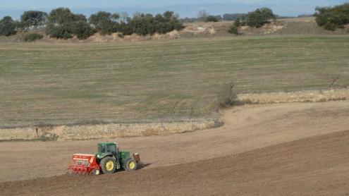 <b>L'agricultura </b>és l'activitat principal dels pobles que perden habitants