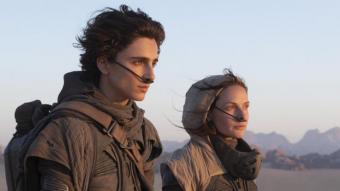 Timothée Chalamet i Rebecca Ferguson, al planeta desèrtic Arrakis